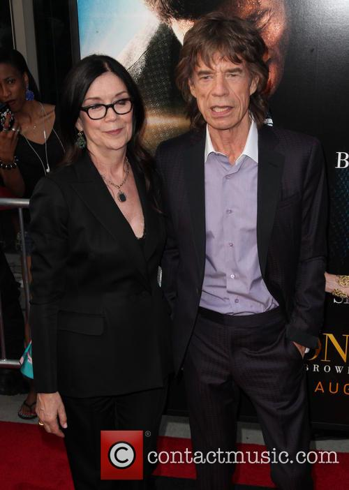 Mick Jagger and Producer Victoria Pearman