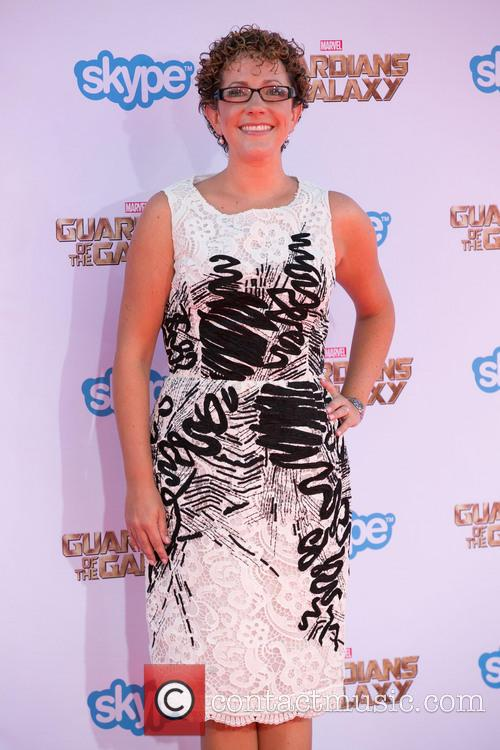 Nicole Perlman At Guardians Of The Galaxy Premiere
