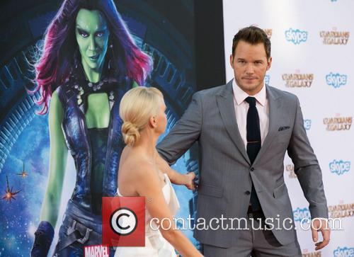 Anna Faris and Chris Pratt 5