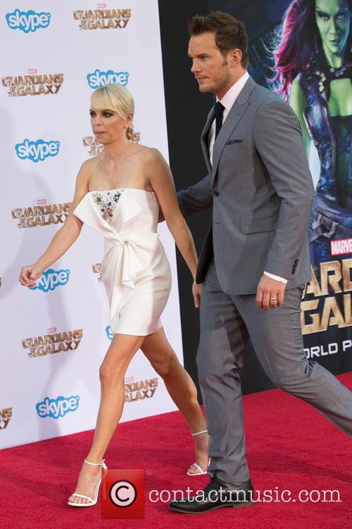 Anna Faris and Chris Pratt 6
