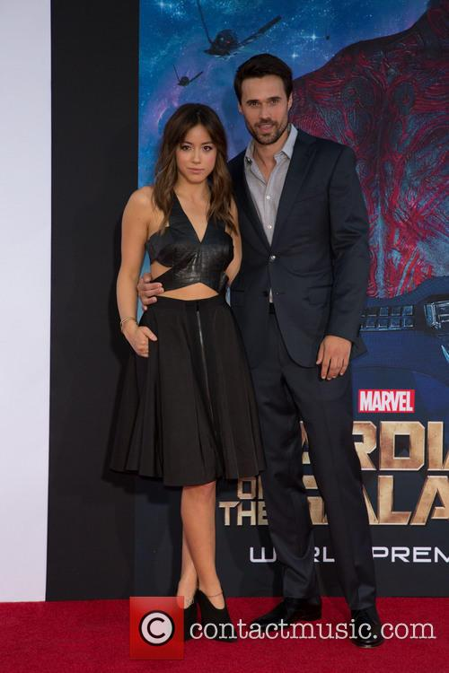 Chloe Bennet and Brett Dalton 2