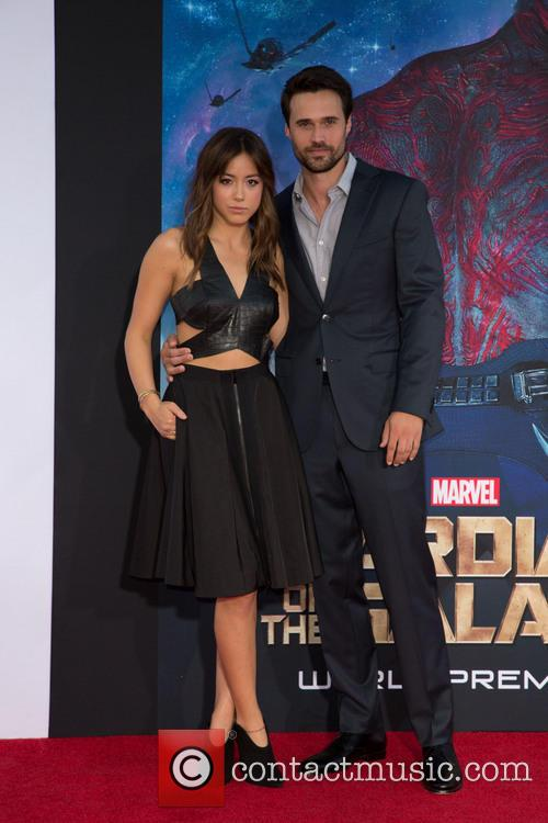Chloe Bennet and Brett Dalton 1