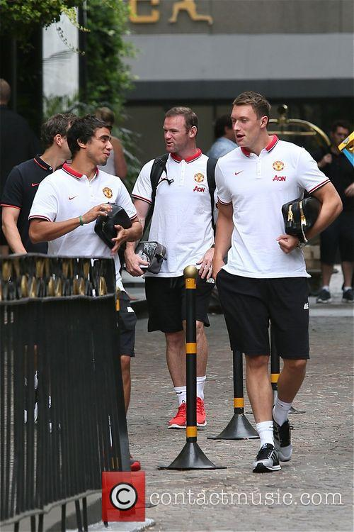 Wayne Rooney, Rafael and Phil Jones 5