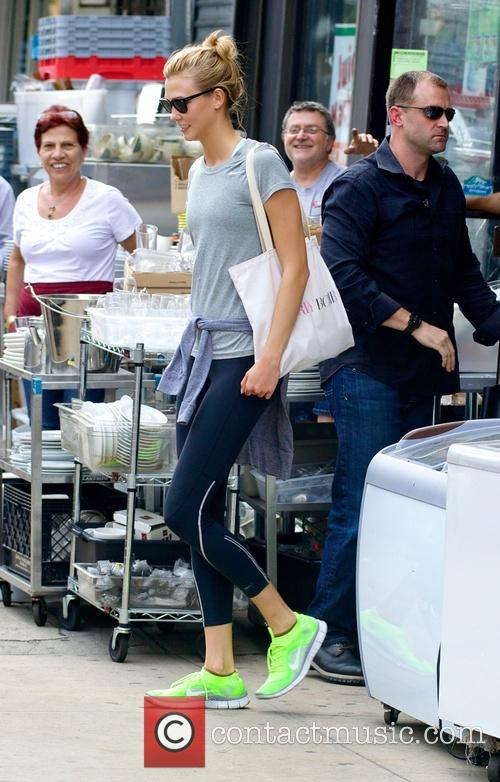Taylor Swift and Karlie Kloss out in Manhattan