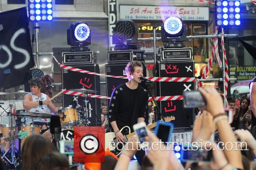 5 Seconds of Summer perform live on the 'Today' show
