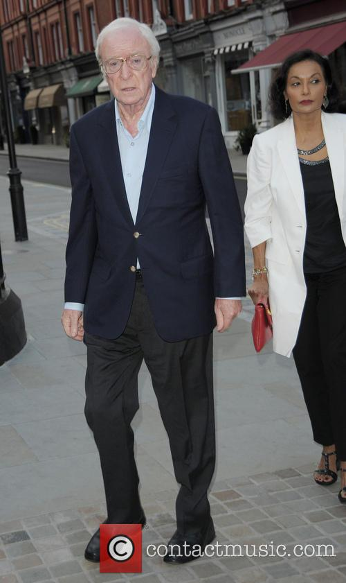 sir michael caine celebrities at the chiltern 4298228