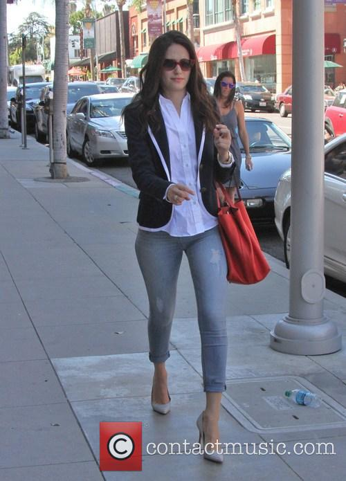 Emmy Rossum Out And About