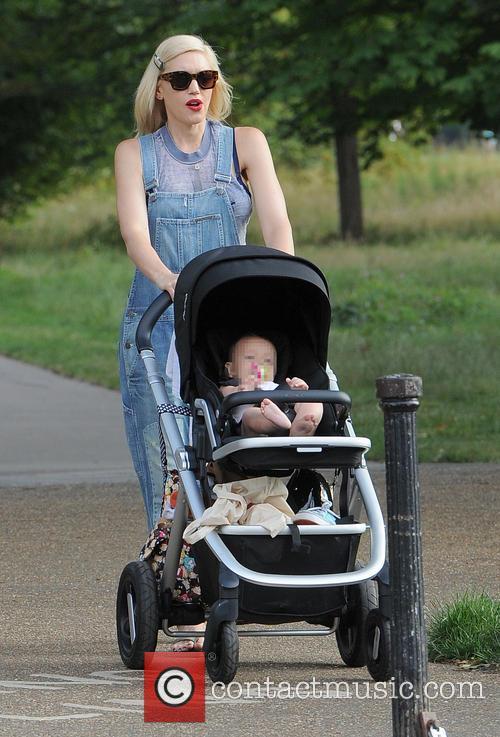 Gwen Stefani and husband Gavin Rossdale enjoy a...