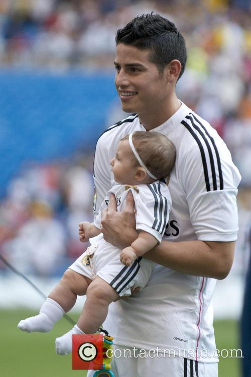Real Madrid and James Rodriguez 1
