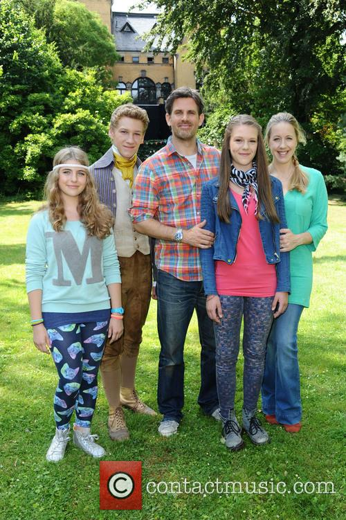 Eliz Thrun Disney Channel Germany Shooting Their First Own Tv