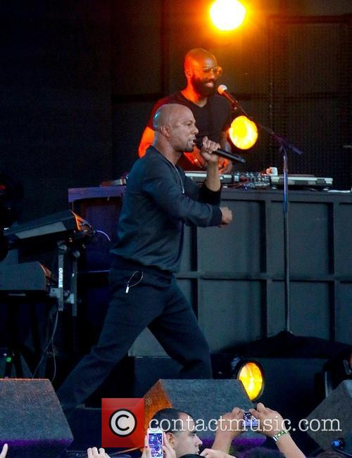 Common performs at Jimmy Kimmel Live!