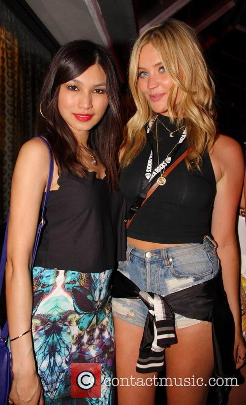 Laura Whitmore and Gemma Chan 1