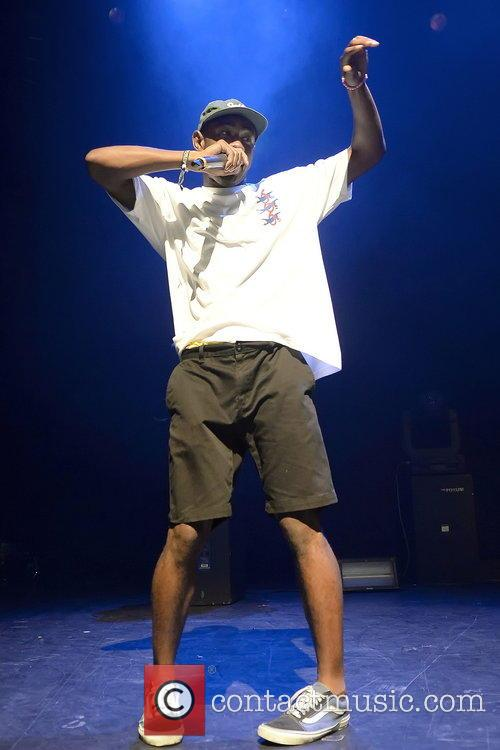 Tyler The Creator performing live