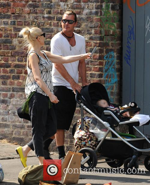 Gwen Stefani, husband Gavin Rossdale and their sons...