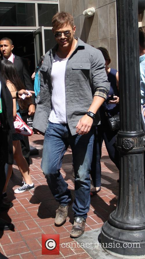 Kellan Lutz at the San Diego Comic-Con convention
