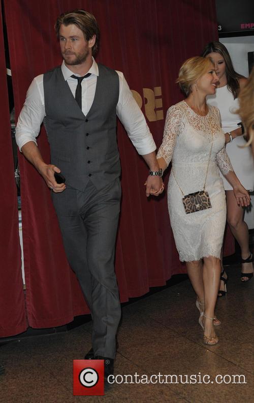 Chris Hemsworth and Elsa Pataky 2