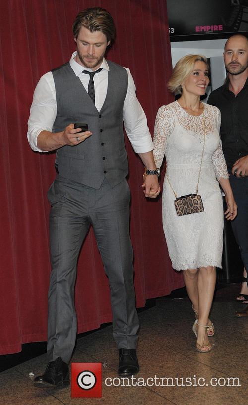 Chris Hemsworth and Elsa Pataky 4