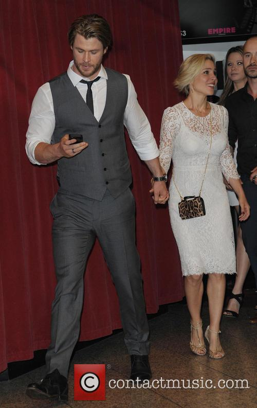 Chris Hemsworth and Elsa Pataky 6