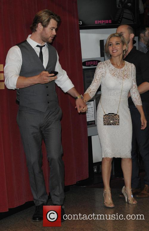 Chris Hemsworth and Elsa Pataky 7