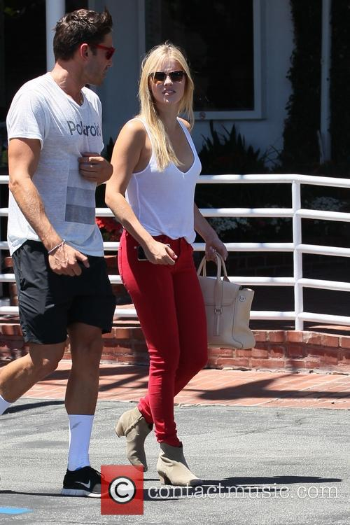 Claire Holt and boyfriend go for lunch
