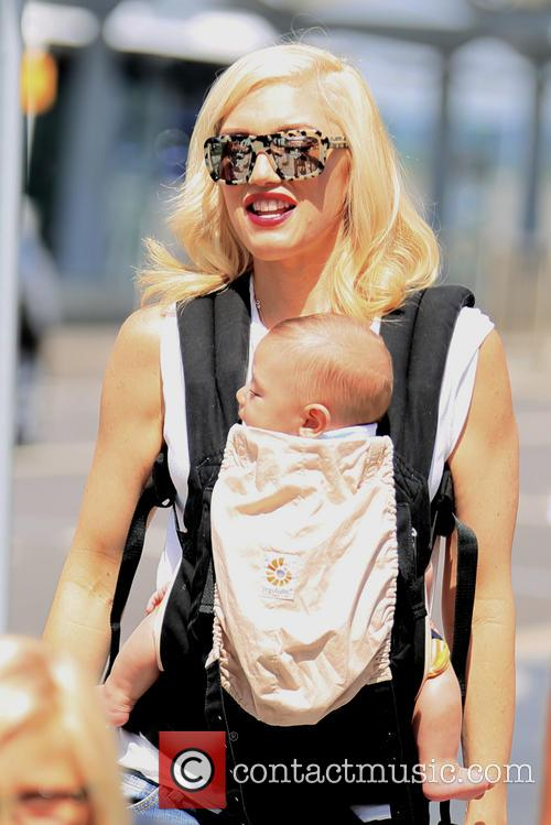 Gwen Stefani and baby Apollo