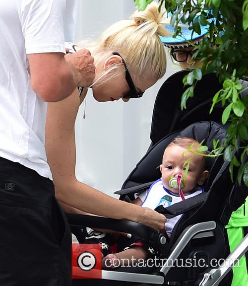 Gwen Stefani, Gavin Rossdale, Kingston Rossdale, Zuma Rossdale and Apollo Rossdale 1