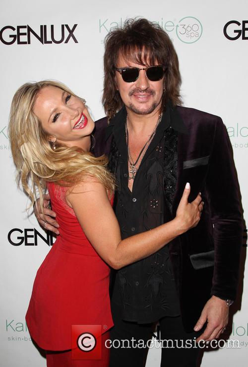 Nikki Lund and Richie Sambora
