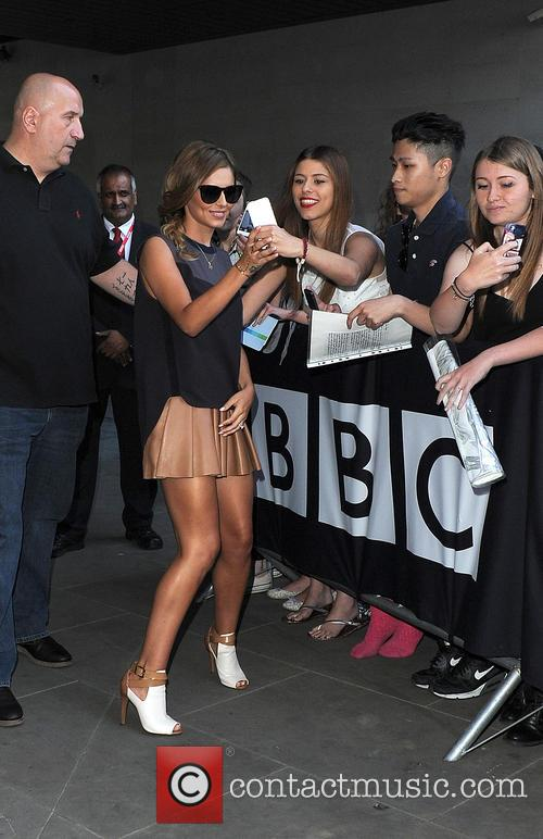 Cheryl Cole at BBC Radio 1