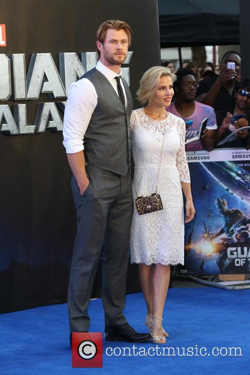 Chis Hemsworth and Elsa Pataky 6