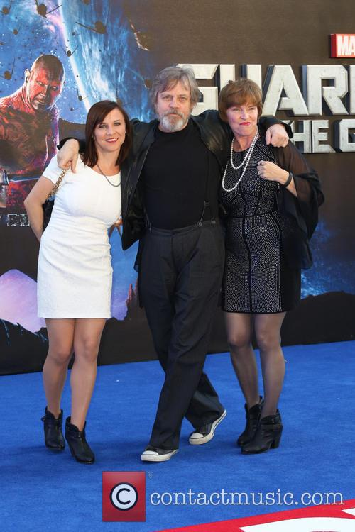 Mark Hamill, Marilou York and Chelsea Hamill 2