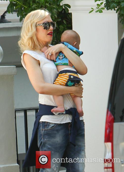Gwen Stefani and Gavin Rossdale leave their London...