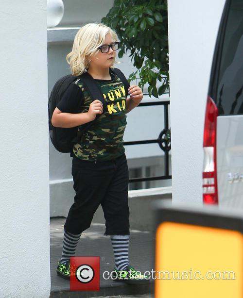 Gwen Stefani, Zuma Rossdale and Gavin Rossdale 3