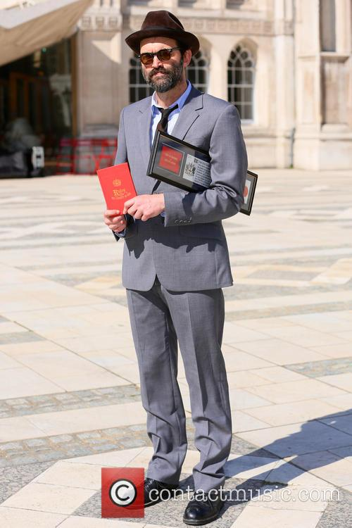 Mark Oliver Everett receives the freedom of the...