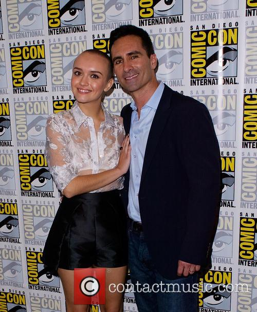 Olivia Cooke and Nestor Carbonell 6