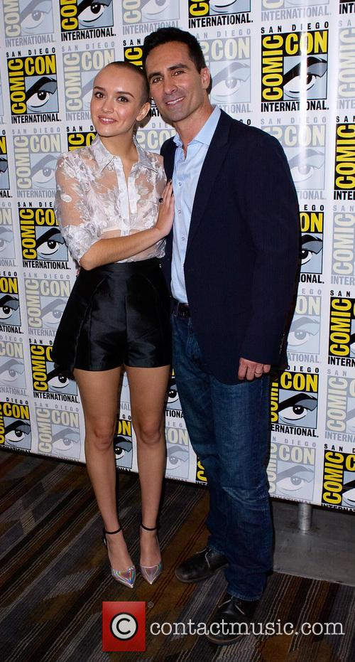Olivia Cooke and Nestor Carbonell 7