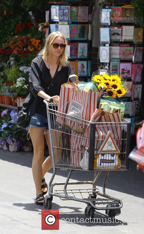 Naomi Watts spotted shopping at Whole Foods Market