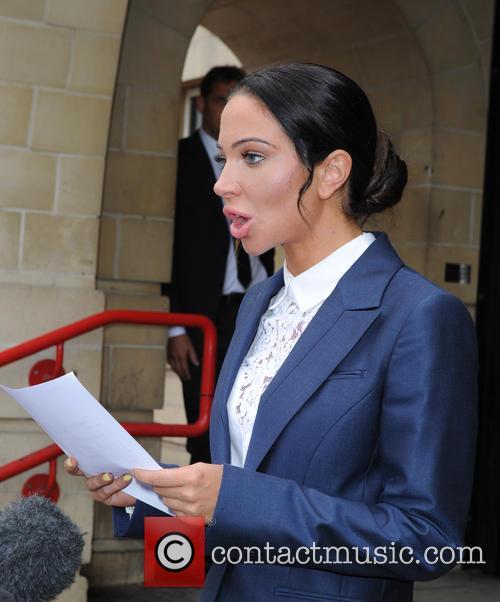 Tulisa court departure