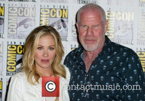 Christina Applegate and Ron Perlman 1
