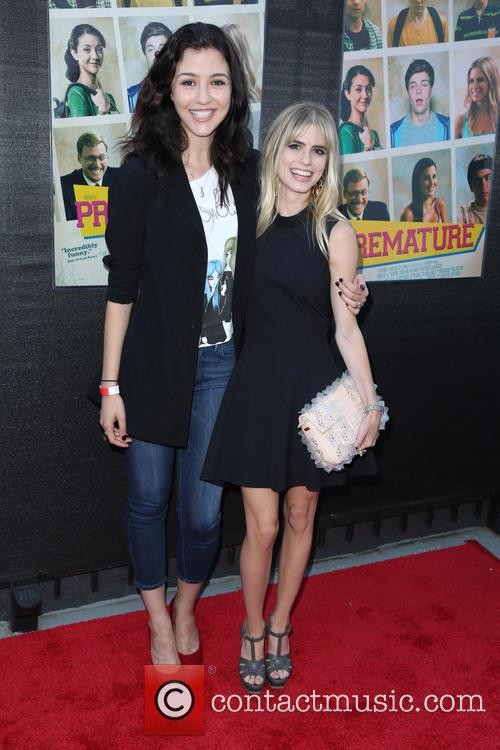 Katie Findlay and Carlson Young 2