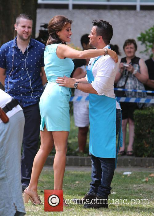 Peter Andre and Melanie Sykes 4