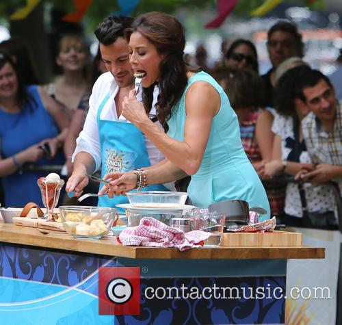Peter Andre and Melanie Sykes 5