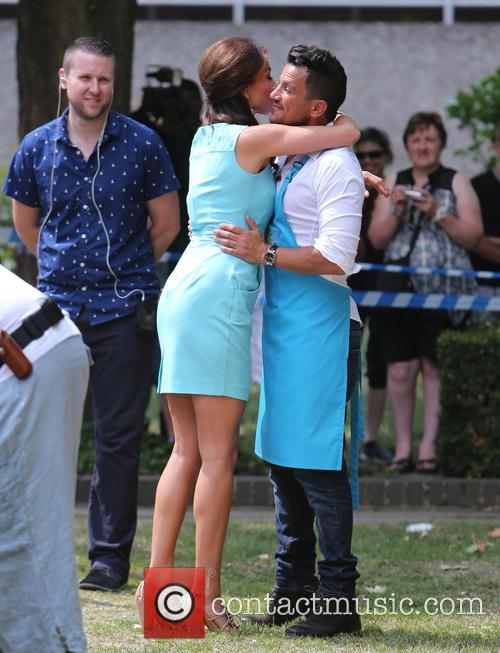 Peter Andre and Melanie Sykes 1