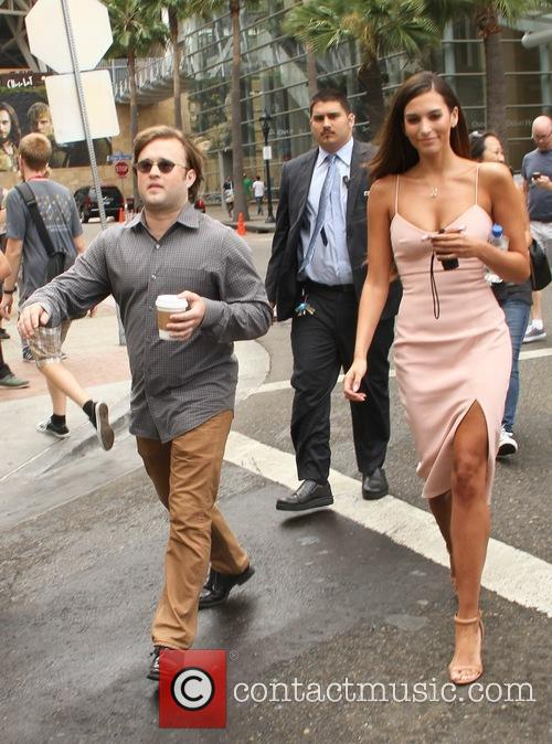 Haley Joel Osment and Genesis Rodriguez 2
