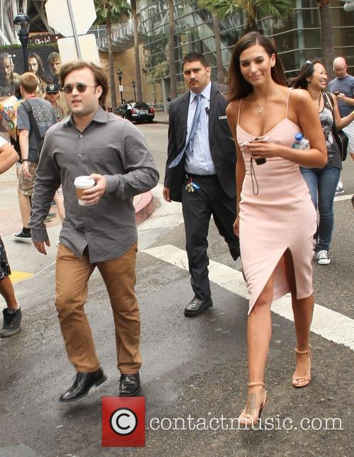 Haley Joel Osment and Genesis Rodriguez 3