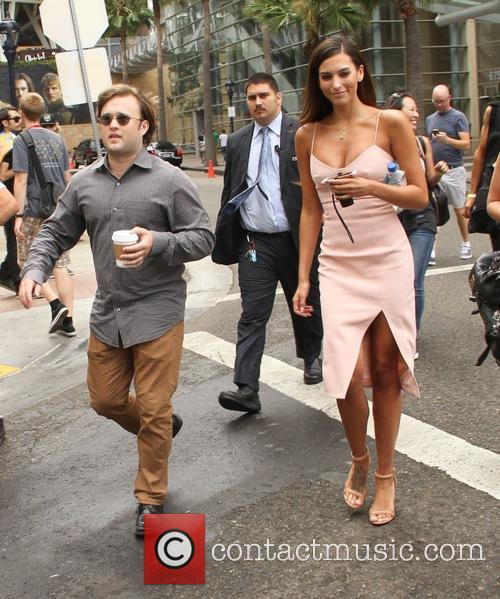 Haley Joel Osment and Genesis Rodriguez 1