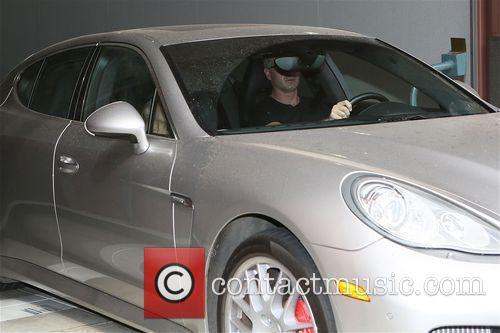 Eric Dane and wife Rebecca Gayheart leave Bedford...