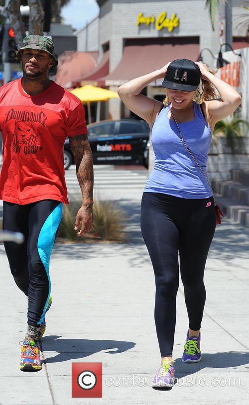 Kelly Brook and David Mcintosh 7