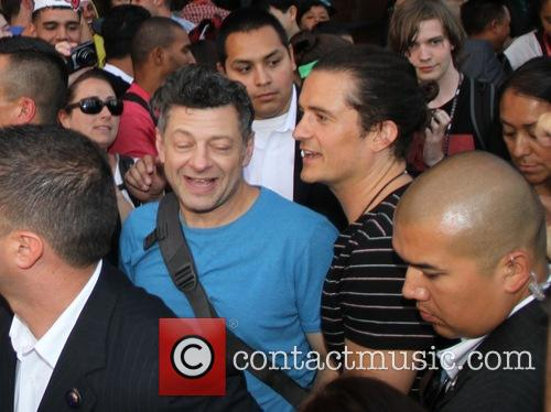 Orlando Bloom, Andy Serkisorlando Bloom and Andy Serkis 6