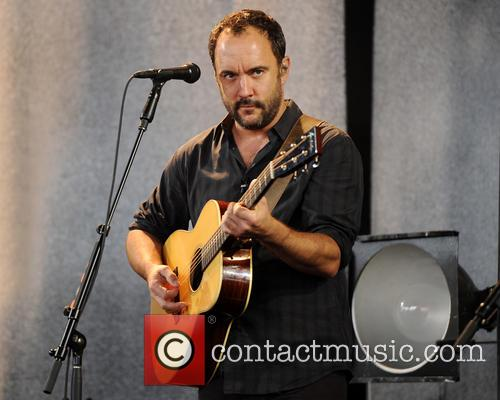 Dave Matthews performs live in concert