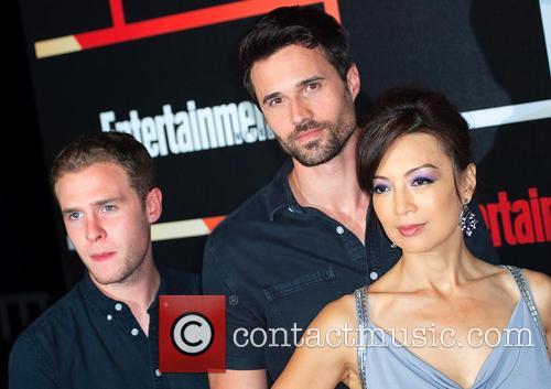 Brett Dalton, Ian De Caestecker and Ming-na Wen